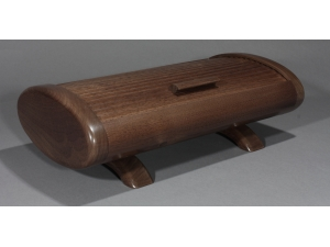 Oval Tambour Box Black Walnut 2014-18